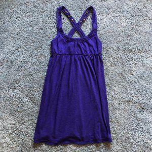Aeropostale purple strappy dress